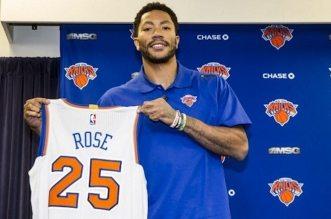 Derrick rose 25 knicks