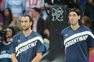 Manu Ginobili et Luis Scola