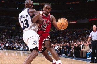 Michael Jordan et Ron Artest