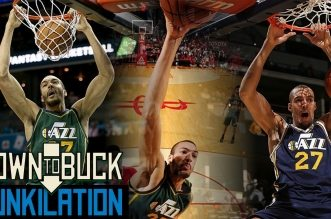 Dunkilation: Les 96 dunks de Rudy Gobert