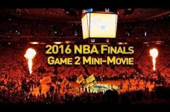 Le mini-movie du Game 2 des NBA Finals 2016