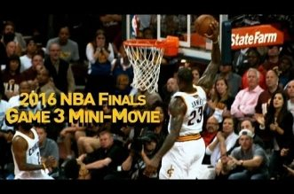 Le mini-movie du Game 3 des Finals