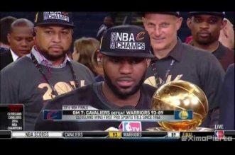 LeBron James : « Faire partie du Top 5 de l'histoire ? Ce serait comme être à un concert de Beyoncé »