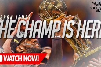 L'énorme mix du jour: LeBron James – The Champ is Here