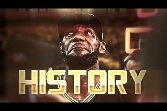 L'énorme mix du jour: LeBron James – The Night History Was Made !