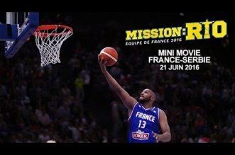 Mission Rio: Le Mini-Movie de France – Serbie