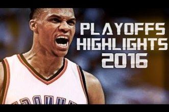 Mix: le meilleur de Russell Westbrook durant les playoffs
