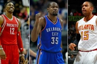 Kevin Durant, Dwight Howard et Al Hoford seront free agents. Crédit: Getty