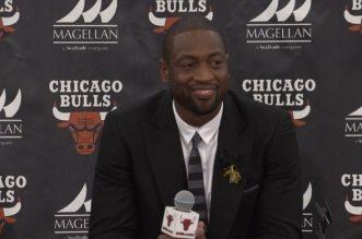 Dwyane Wade bulls