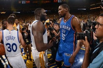 Kevin Durant et Draymond Green