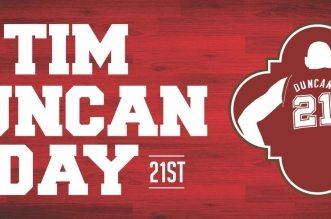 Tim Duncan day