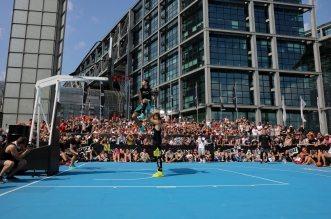 Jordan Kilganon remporte le concours de dunks du #SHUTUPANDPLAY 2016face à une grosse concurrence