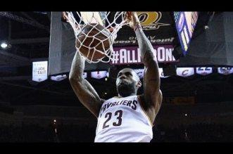 Les dunks de LeBron James lors de la saison 2015-16