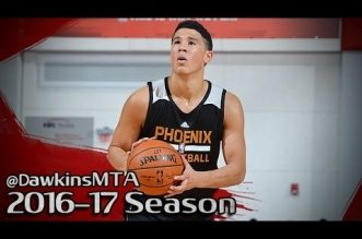 Les highlights de Devin Booker (28 pts), Jimmer Fredette (26 pts), Trey Lyles (28 pts) et Jonathan Gibson (30 pts)