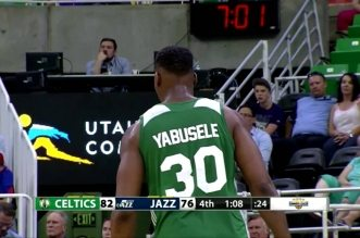 Les highlights de Guerschon Yabusele: 13 points, 8 rebonds et 2 contres