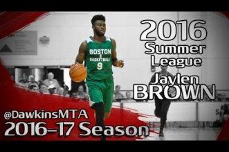 Les highlights de Jaylen Brown en Summer League