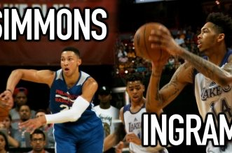 Les highlights du duel Ben Simmons – Brandon Ingram