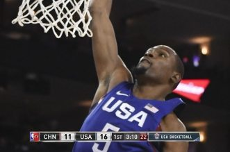 Les highlights grand format de Team USA – Chine