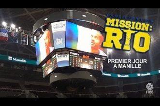 Mission Rio: Les bleus sont arrivés à Manille