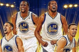 thompson green durant curry warriors