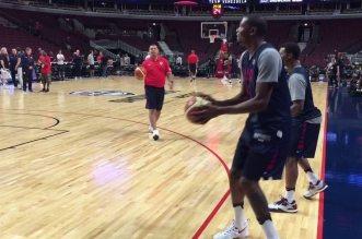 Vidéo : Kyle Lowry défie Kevin Durant à l'entraînement de Team USA