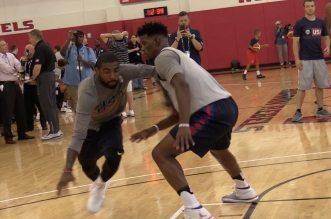Vidéo: les joueurs de Team USA s'affrontent en 1-contre-1