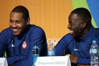Carmelo Anthony et Draymond Green