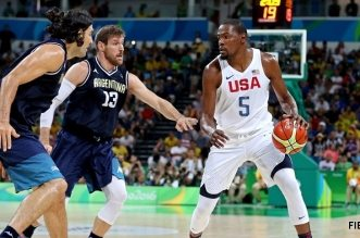 Kevin Durant USA Argentine