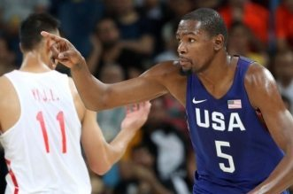 Kevin Durant team USA Chine