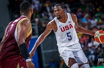 Kevin Durant team usa venezuela