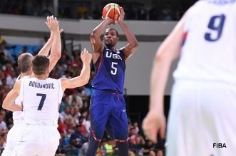 Kevin Durant usa serbie