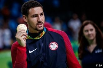 Klay Thompson jeux olympiques team usa