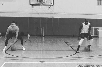 LeBron James et Ben Simmons