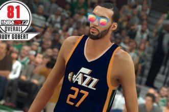 Rudy Gobert NBA 2K17