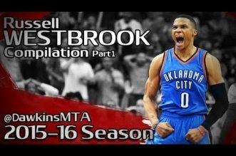 Compilation: le meilleur de Russell Westbrook cette saison