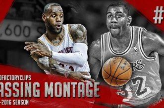Compilation: les meilleures passes de la saison de LeBron James