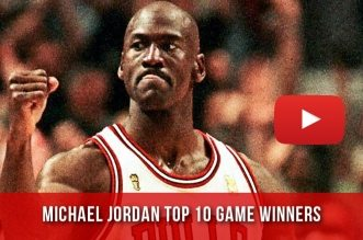 Le Top 10 des Game Winners de Michael Jordan