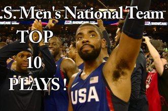 Le Top 10 pré-olympique de Team USA