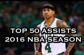 Le Top 50 des plus belles passes de la saison 2015-16 !