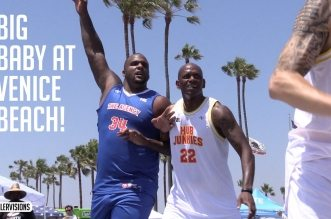 Les highlights de Glen (Very) Big Baby Davis à Venice Beach