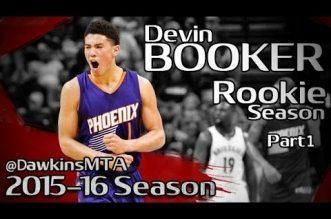 Les highlights de la saison rookie de Devin Booker et Emmanuel Mudiay