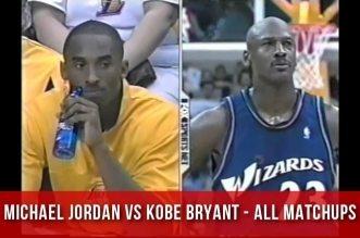 Les highlights de tous les duelsMichael Jordan vs Kobe Bryant