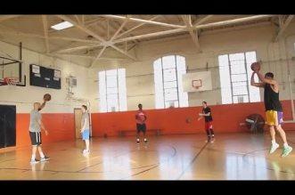Vidéo : 15/15 à 3-points pour Jordan Clarkson à l'entraînement