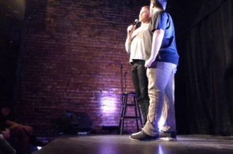 Vidéo: Blake Griffin fait du stand-up à Montréal