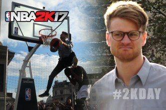 Choisi « au hasard » dans le public, Rafal « Lipek » Lipiński passe un énorme dunk en plein Londres !