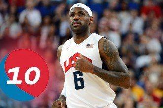 Le Top 10 de LeBron James avec Team USA