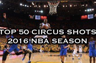 Le Top 50 des Circus Shots de la saison 2015-16