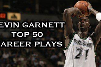 L'énorme Top 50 en carrière de Kevin Garnett