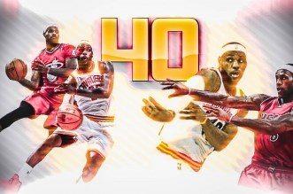 Les 40 meilleures passes de LeBron James depuis 2010