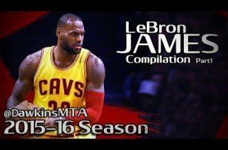 Les highlights offensifs de LeBron James lors de la saison 2015-16